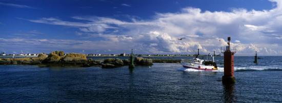 retour de pêche à St Guénolé